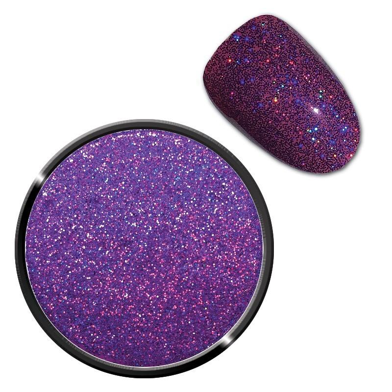 Sclipici holografic- violet