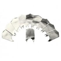 Forma elastica din aluminiu pt Curba C - 10 buc