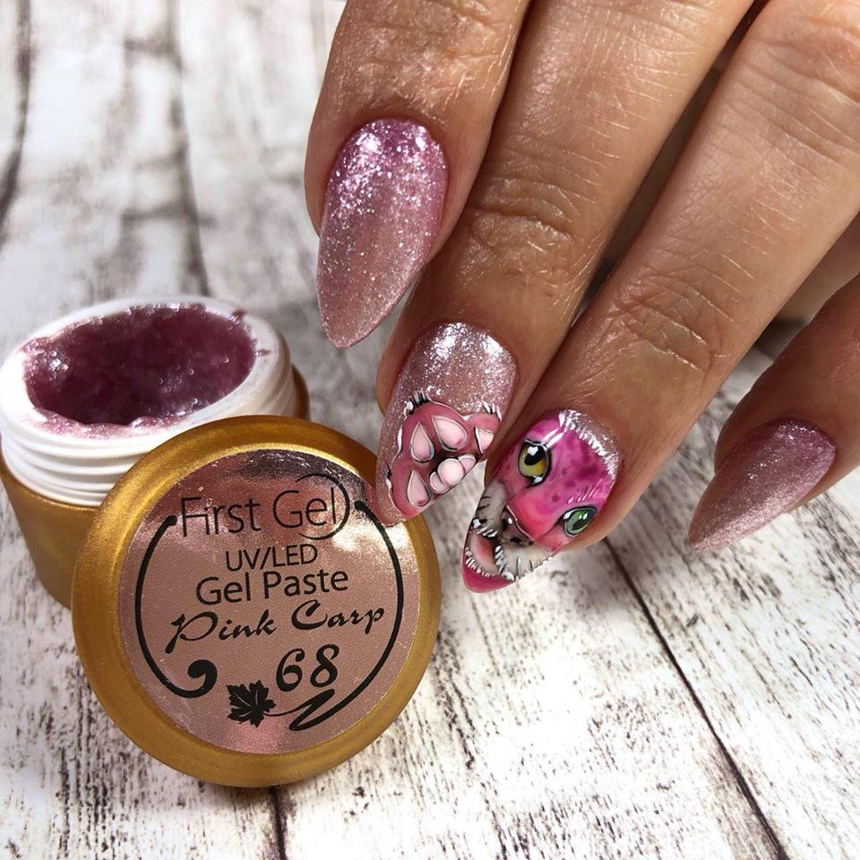 gel color Pink Carp